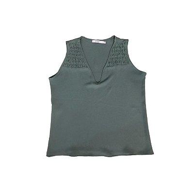Blusa ATEEN Feminina Verde