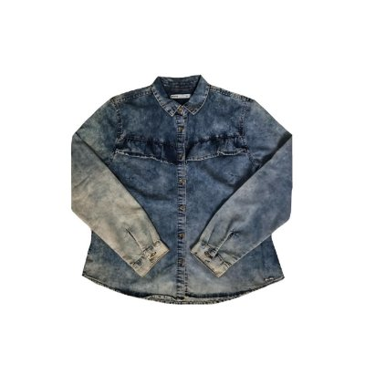 Camisa Jeans HERING Feminina