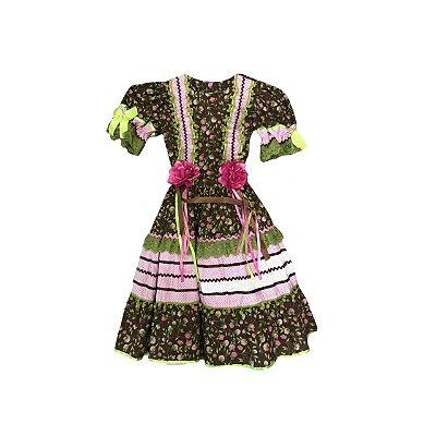 Vestido Festa Junina MANIA DE MENINA