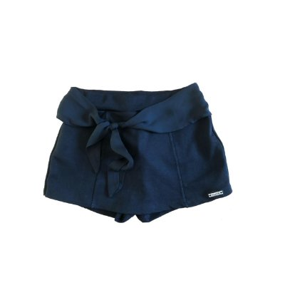 Shorts Saia VIC & VICK Infantil Preta