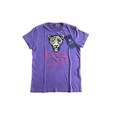 Camiseta JOHN JOHN Infantil Uva Tigre (com Etiqueta)