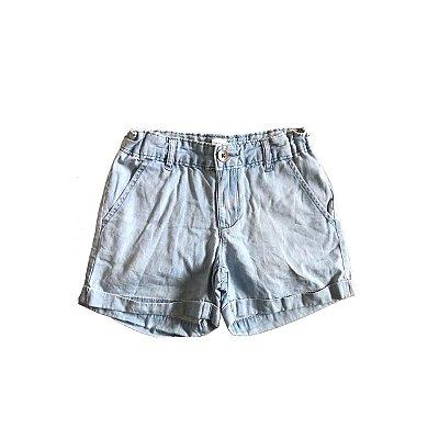 Shorts Jeans GAP KIDS Infantil Azul Molinho