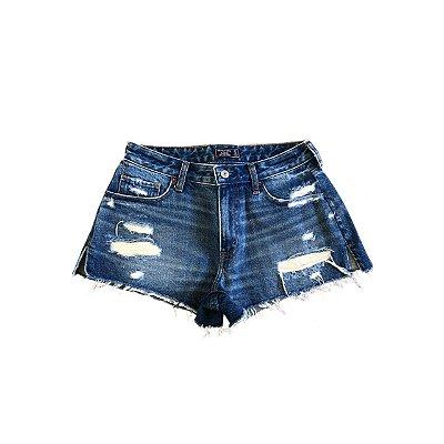 Shorts Jeans ABERCROMBIE Feminino Rasgos