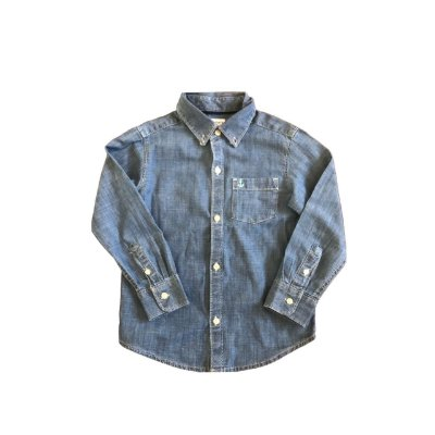 Camisa Jeans Manga Longa CARTER`S Infantil