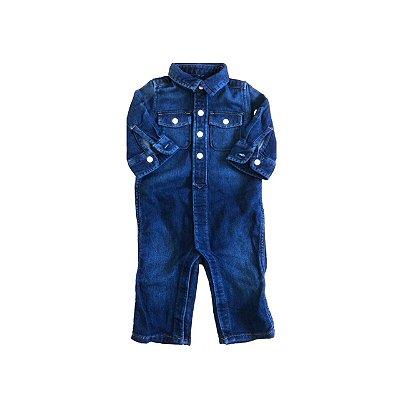 Macacão Jeans ML BABY GAP Infantil