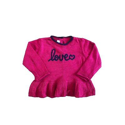 Trico CHICCO Infantil Vermelho LOVE