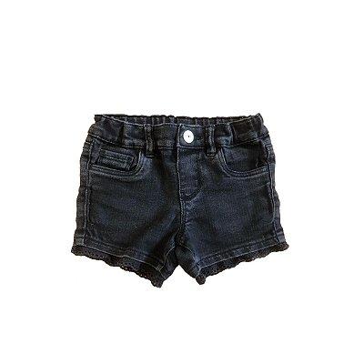 Shorts Jeans OSHKOSH Infantil Preto