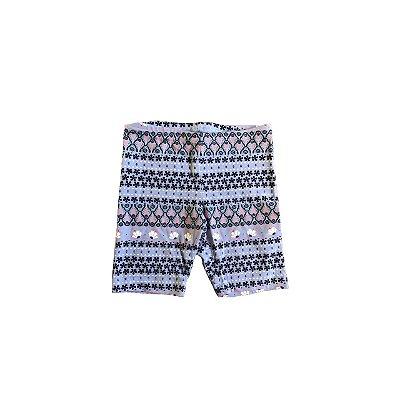 Shorts Old Navy Azul Desenhos