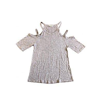 Camiseta COSTUME Feminina Cinza