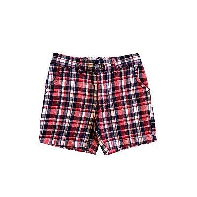 Shorts CARTER`S Infantil Xadrez