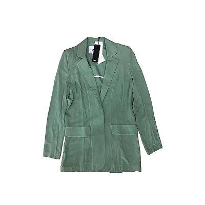 Blazer Alongado ENNA Feminino Verde