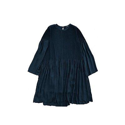 Vestido ZARA Feminino Preto Manga Longa