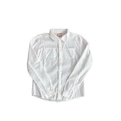 Camisa Manga Longa MILON Infantil Branca