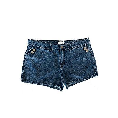 Shorts Jeans ZARA Feminino Azul