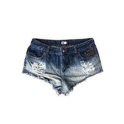 Shorts Jeans POP UP Feminino Destroyer