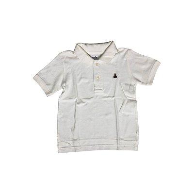 Camiseta Polo GAP Infantil Branca