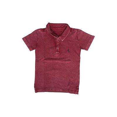 Camiseta Polo RESERVA Infantil Vermelho