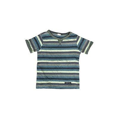 Camiseta GREEN Infantil Listras