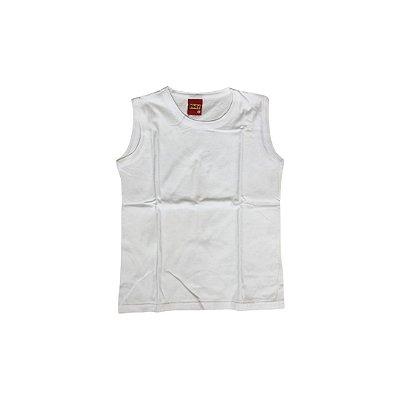 Camiseta Regata KYLY Infantil Branca