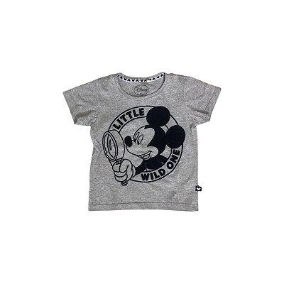 Camiseta DISNEY Infantil Cinza Mickey