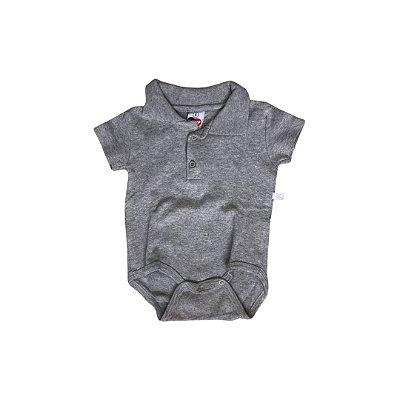 Body Polo TIP TOP Infantil Cinza