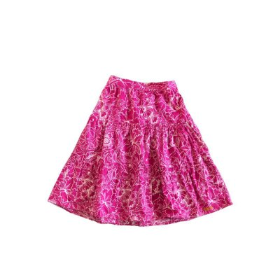 Saia GREEN Infantil Pink e Branca