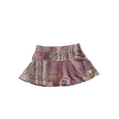 Shorts Saia TRACK&FIELD Listras Coloridas
