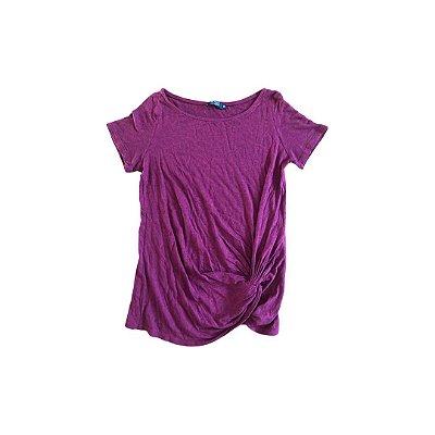 Camiseta RICADO ALMEIDA Feminina Vermelho