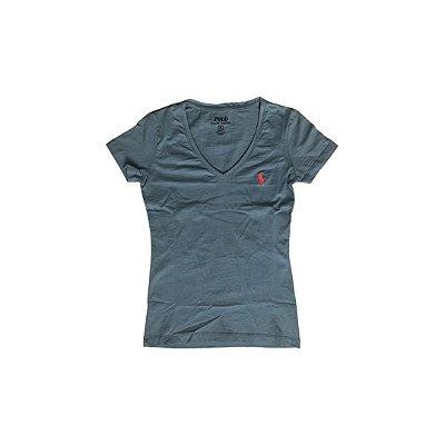 Camiseta RALPH LAUREN Feminina Azul