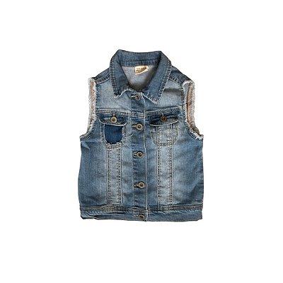 Colete Jeans ZARA Infantil Azul