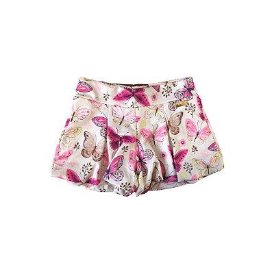 Shorts Pop Love Borboletas