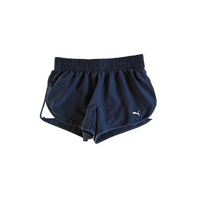 Shorts Puma Preto e Branco