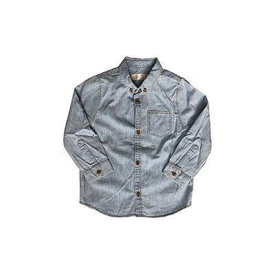 Camisa Jeans ZARA Infantil Azul