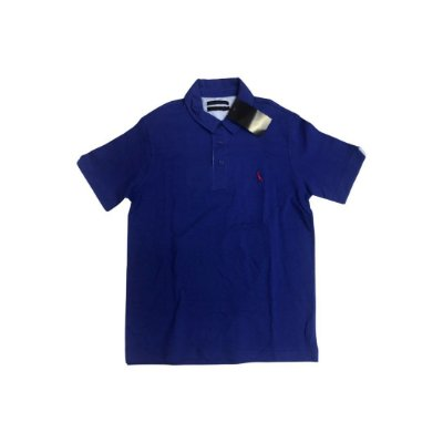 Camiseta Polo RESERVA Infantil Azul (com Etiqueta)