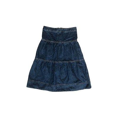 Saia Jeans Midi BARDÔH Feminino