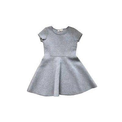 Vestido ZARA Infantil Cinza