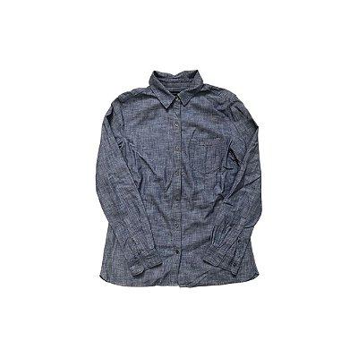 Camisa Jeans BANANA REPUBLIC Feminina Azul