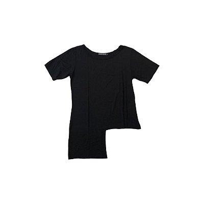 Camiseta SANTA COSTURA DE TODOS OS PANOS Feminina Preta