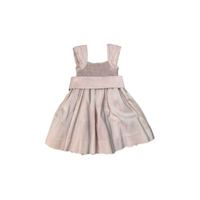 Vestido RALPH LAUREN Infantil RosaClarinho Casa de Abelha
