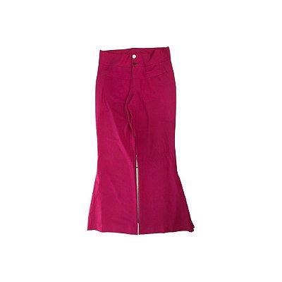 Calça Pink Flare