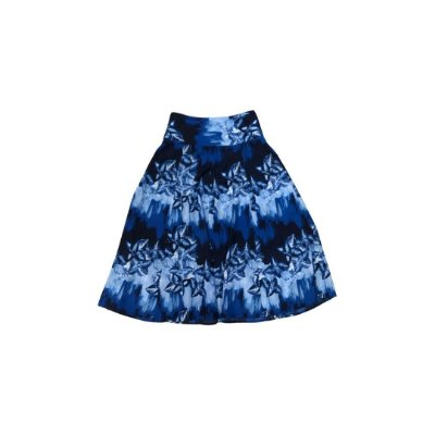 Saia Midi RICHARDS Feminina Azul