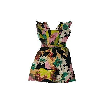 Vestido ZARA Infantil Estampado Flores
