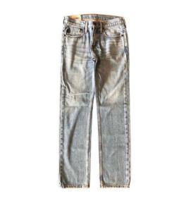 Calça Jeans Clara (Mais surrada) Abercrombie & Fitch