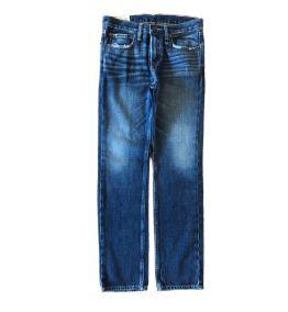 Calça Jeans Reta Escura Abercrombie & Fitch