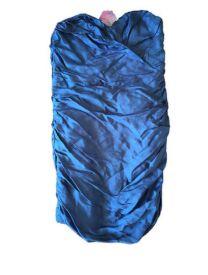 Vestido Azul Tomara que Caia Maria Filó
