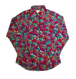 Camisa Colorida Florida Maria Filó