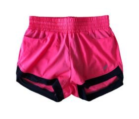 Shorts Rosa Flúor Asics