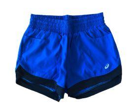 Shorts Azul e Preto Asics