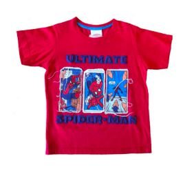 Blusa Vermelha Homem Aranha Marvel