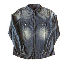 Camisa Jeans Escura Member's Mark